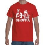 KOSZULKA T-SHIRT GET TO THE CHOPPA ARNOLD PREDATOR